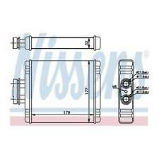 Fits VW Polo 9N 1.9 TDI Genuine Nissens Heat Exchanger Interior Heater Matrix