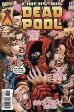 DEADPOOL #38 Marvel Comics X-Men Wolverine EARLY 1ST PRINT! RARE! LOW PRINT RUN!