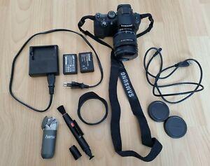 Samsung NX11 Systemkamera inkl. Tamrac Velocity 8x Tasche mit Zubehörpaket