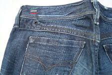 DIESEL Lowky Damen Jeans Hose 29/32 W29 L32 stone wash 008SS darkblue used TOP#Q