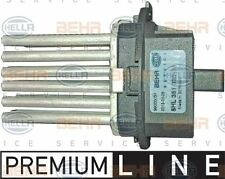 5HL 351 332-381 Ventilador Regulador de compartimento de pasajeros HELLA