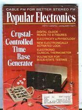Popular Electronics Magazine January 1971 Time Base Generator 070517nonjhe