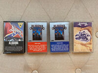 ALABAMA Cassette Tape Lot Of 4 The Very Best Of Roll On Pass It On Down