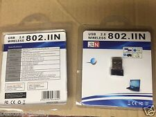 Mini / micro Wireless N 150mbps USB Wifi Adapter LAN Network Adapter 802.11n/g/b