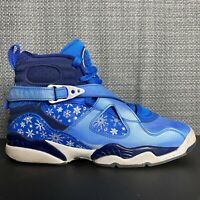 Nike Air Jordan 8 Retro Snow Blizzard GS Size 4.5Y Womens Size 6 305368-400