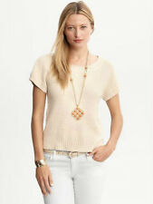 Brand NEW Banana Republic Women's 100% Cotton Crewneck Sweater