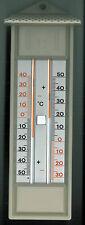 Maxima Minima Thermometer - Innen - Außen - Garten - Thermometer