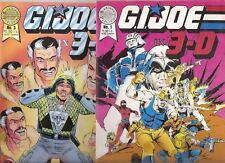 Blackthorne Series 2 Comics Books GI G.I. G I Joe in 3D 1 Vf and 3 FnVf  Wp