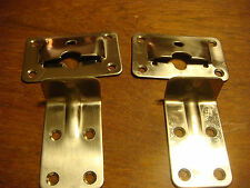 Removeable TABLE BRACKETS Stainless NOS Cockpit Lot of 25 Wholesale NEW