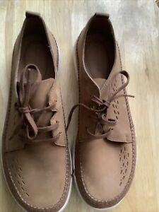 Clarks Brand New Brown Leather/suede Casual Design Shoe UK 11