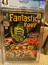FANTASTIC FOUR #49 CGC 4.5 FIRST GALACTUS. Stan Lee Story! 2nd Silver Surfer!