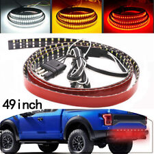 "49"" 324LED 6 Modes Truck Strip Tailgate Light Bar 3Row Reverse Brake Signal Tail"