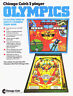 Chicago Coin OLYMPICS 1975 Original NOS Flipper Game Pinball Machine Sales Flyer