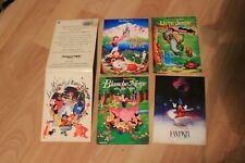 "lot de cartes postales "" le monde d' Euro Disney """