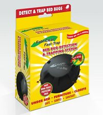 Fabriclear Fast-Trap Bed Bug Trap - Non-Toxic, Pesticides And Insecticides Free
