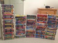 Collectible Lot of 105 VHS Movies (28 Disney Masterpieces, Classics, Universal)