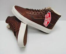 Vans SK8 Hi Reissue Leather Dachshund Potting Soil VN0A2XSBLYW Men's Size: 9