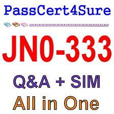 Juniper Security, Specialist (JNCIS-SEC) JN0-333 Exam Q&A+SIM