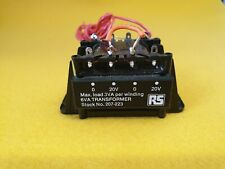 Chassis Transformer 240/120 V Primary To 20 V Secondary