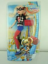 "DC SUPER HERO GIRLS 12"" HARLEY QUINN DOLL WITH ID CARD NEW & SEALED"