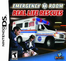 Emergency Room: Real Life Rescues NDS New Nintendo DS