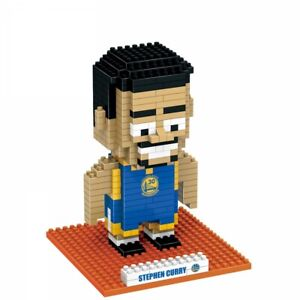 NBA Official Stephen Curry BRXLZ Building Bricks Golden State W 3D RRP £25