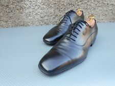 ⭐ GUCCI OXFORD - NERO - scarpe da uomo - UK 9 - BUONE CONDIZIONI