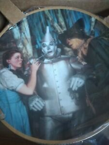 2-The Wizard of Oz 50th Anniversary Collector Numbered Plates