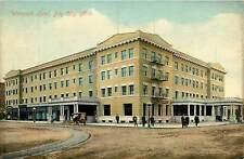Michigan, MI, Bay City, Wenonah Hotel 1909 Postcard