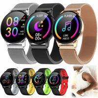 Bluetooth Smart Watch Women Men Sport Heart Rate Tracker Watch For Android iOS