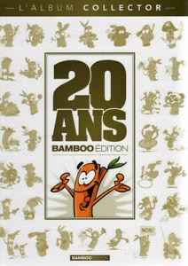 BD - 20 ANS BAMBOO EDITION, L'ALBUM COLLECTOR / EO BAMBOO