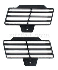 Fiat 124 Coupe Spider Tunnel Air Vent Grill Set New
