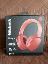 Skullcandy Hesh 3 Bluetooth Wireless Headphones Microphone Red s6htw-k613 #2