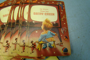Vintage 1950s Dairy Queen Advertising Babies on Playing Cards, Brown & Bigelow