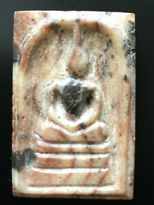 RARE PHRA SOMDET SARIRA PRA TATH STONE SAKAYAMUNI ANCIENT BUDDHA RELICS AMULETS