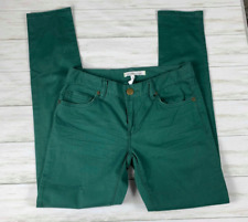 Women's BCBGeneration Jasper Skinny Jeans sz 25 green cute chic
