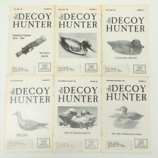 VINTAGE HUNTING The Decoy Hunter 1987 Mailer Ducks Goose Shorebird