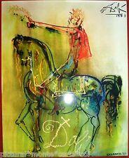SALVADOR DALÍ THE KNIGHT ROMAN CHRIST 1 1971 CERAMIC HORSE HORSE HORSES