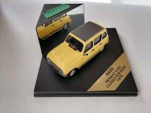 Renault 4 GTL Closed Sun Roof 1978 - Vitesse 045D 1:43