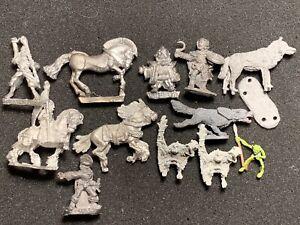 D&D Metal Fantasy Miniatures Grenadier Citadel Ral Partha Vintage