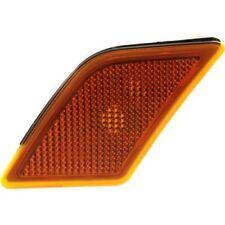 For C350 08-11, CAPA Front, Driver Side Side Marker, Amber Lens
