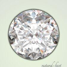 2 Carat H/VS1/Ideal Cut Round Brilliant AGI Certified Diamond 8.07x8.13x4.95mm
