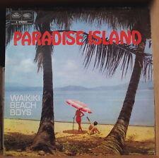 THE WAIKIKI BEACH BOYS PARADISE ISLAND BEACH COVER UK PRESS LP REGAL