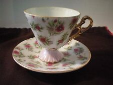 LOVELY Floral Dainty Cup & Saucer