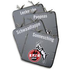 1. FC Köln Sitzkissen Kissen 4er Set 40x40x2 cm