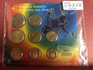 Spagna Espagne Spanien 2000 Divisionale FDC