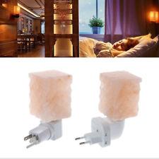 Natural Himalayan Salt Lamp Air Purifier Crystal Salt Rock Night Light EU/US/AU