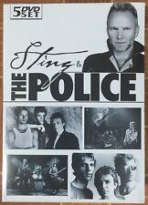 STING & THE POLICE - 5 DVD BOX-SET - NEW / SEALED