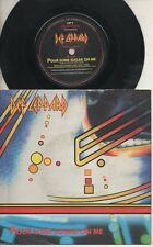 "DEF LEPPARD   Rare 1987 UK Only 7"" OOP Rock P/C Single ""Pour Some Sugar On Me"""