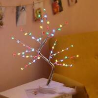 108 LED Pearl Blossom Tree Bonsai Light Table Bedside Lamp Room Party Decor